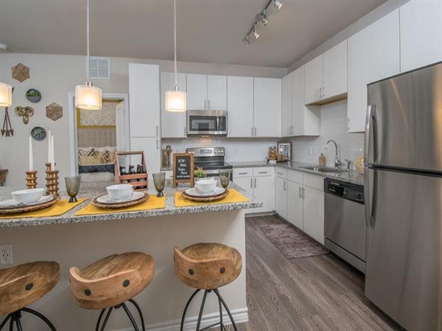 Stainless Steal Appliances at Windsor Republic Place, Austin, TX 78727