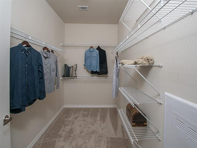 Spacious Walk-In Closet at Windsor Republic Place, Texas