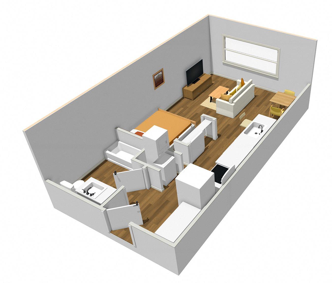 A-1 Floor Plan 1