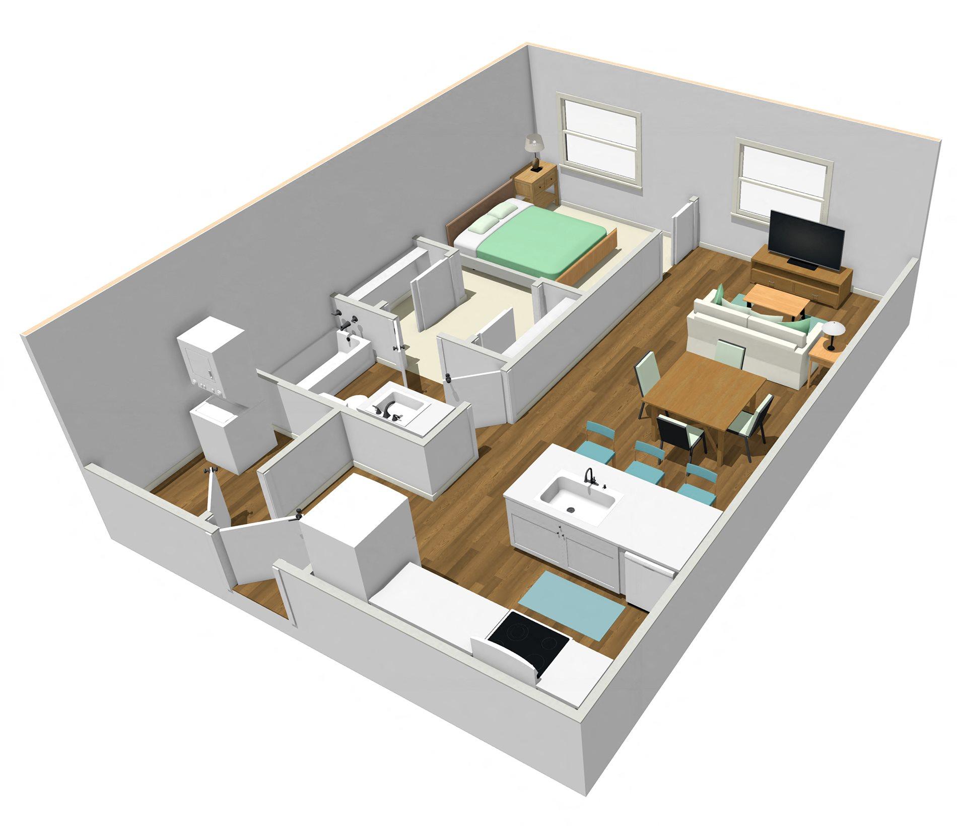 C-1 Floor Plan 2