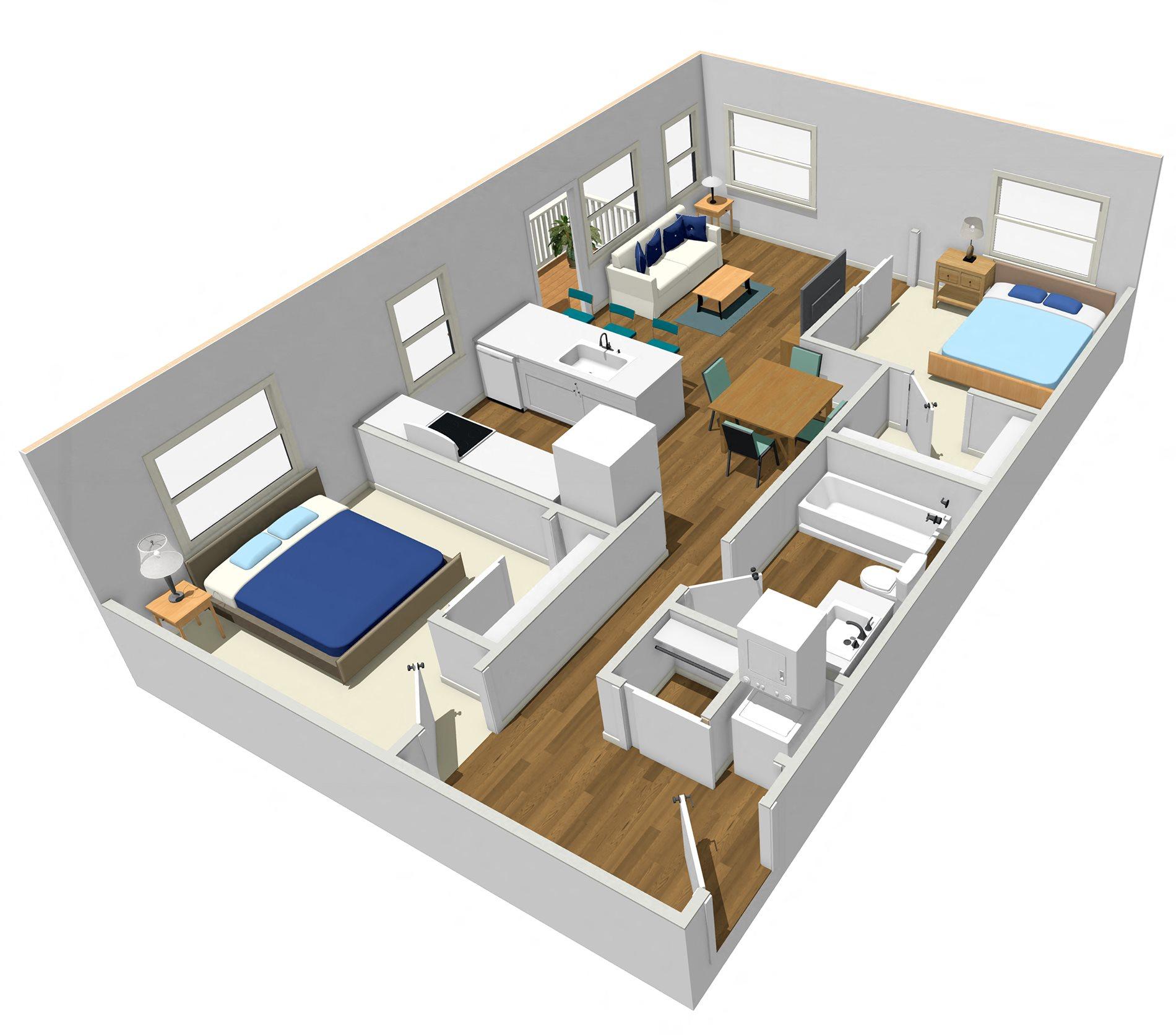 D-6 Floor Plan 3