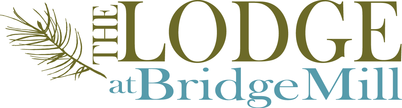 Logo Lodge at BridgeMill Luxury Senior Living Community Canton Georgia