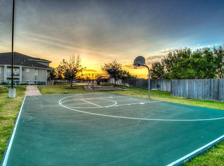Outdoor Basketball Court at The Dorel Laredo, Laredo,Texas