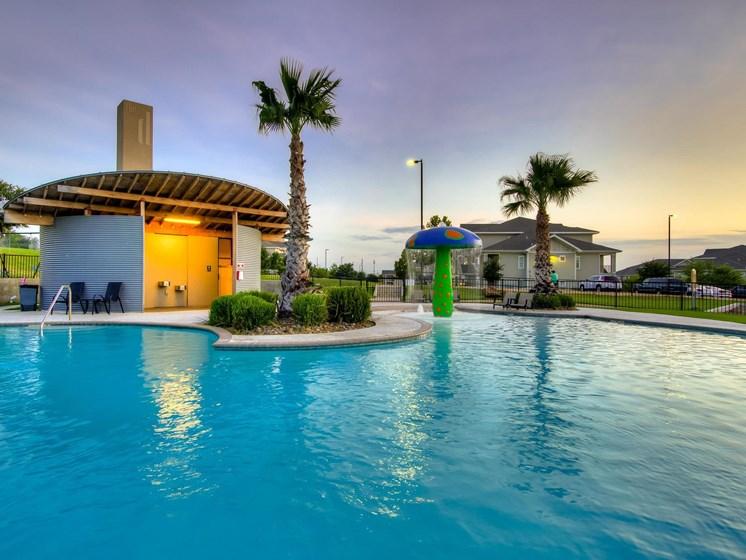 Resort Inspired Pool with Cabana at The Dorel Laredo, Laredo, TX 78043