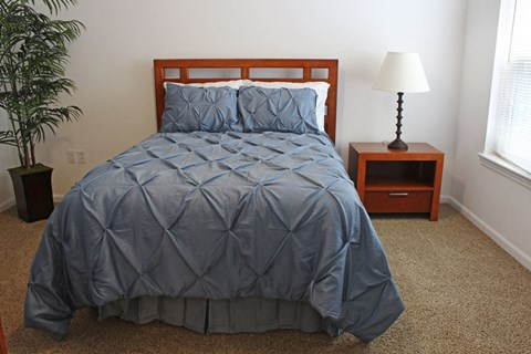 Cozy Bedroom at Lynbrook Apartment Homes and Townhomes, Nebraska
