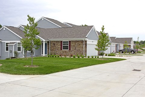 Private Driveways to Townhomes at Lynbrook Apartment Homes and Townhomes, Elkhorn, NE, 68022