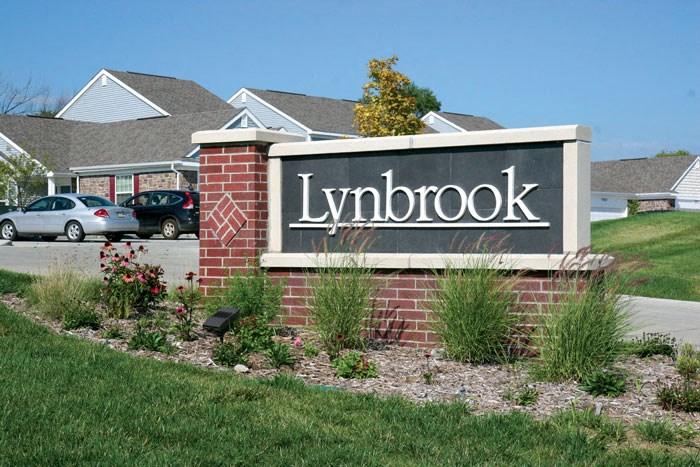 Property Signage at Lynbrook Apartment Homes and Townhomes, Elkhorn, Nebraska