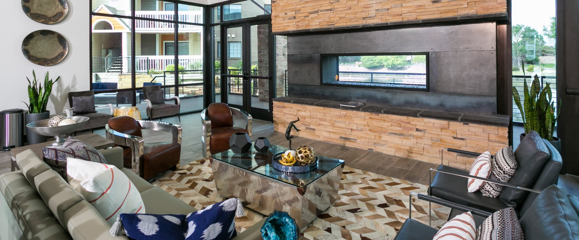 Clubhouse at Apres Apartments in Denver, CO