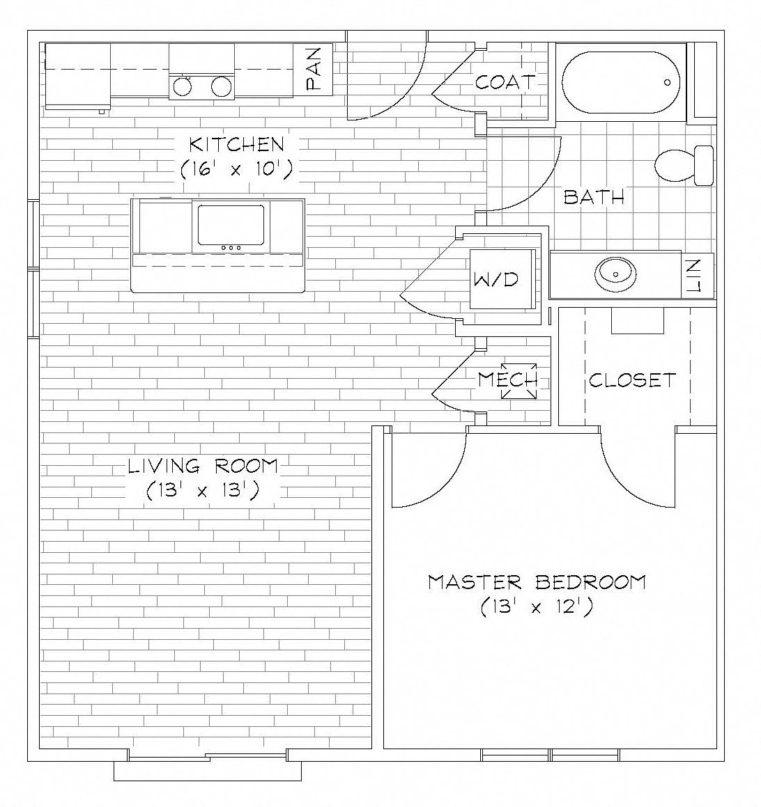 A1-2 Floor Plan 1