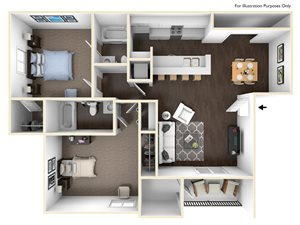 Discovery 2x2 floor plan