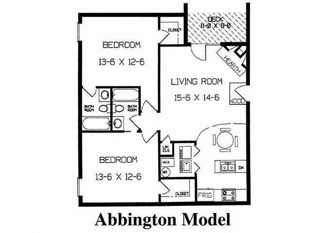 Abbington Floor Plan 2