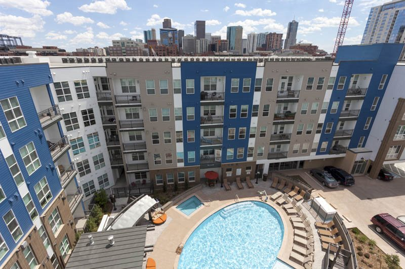 Denver, CO City House Apartments pool