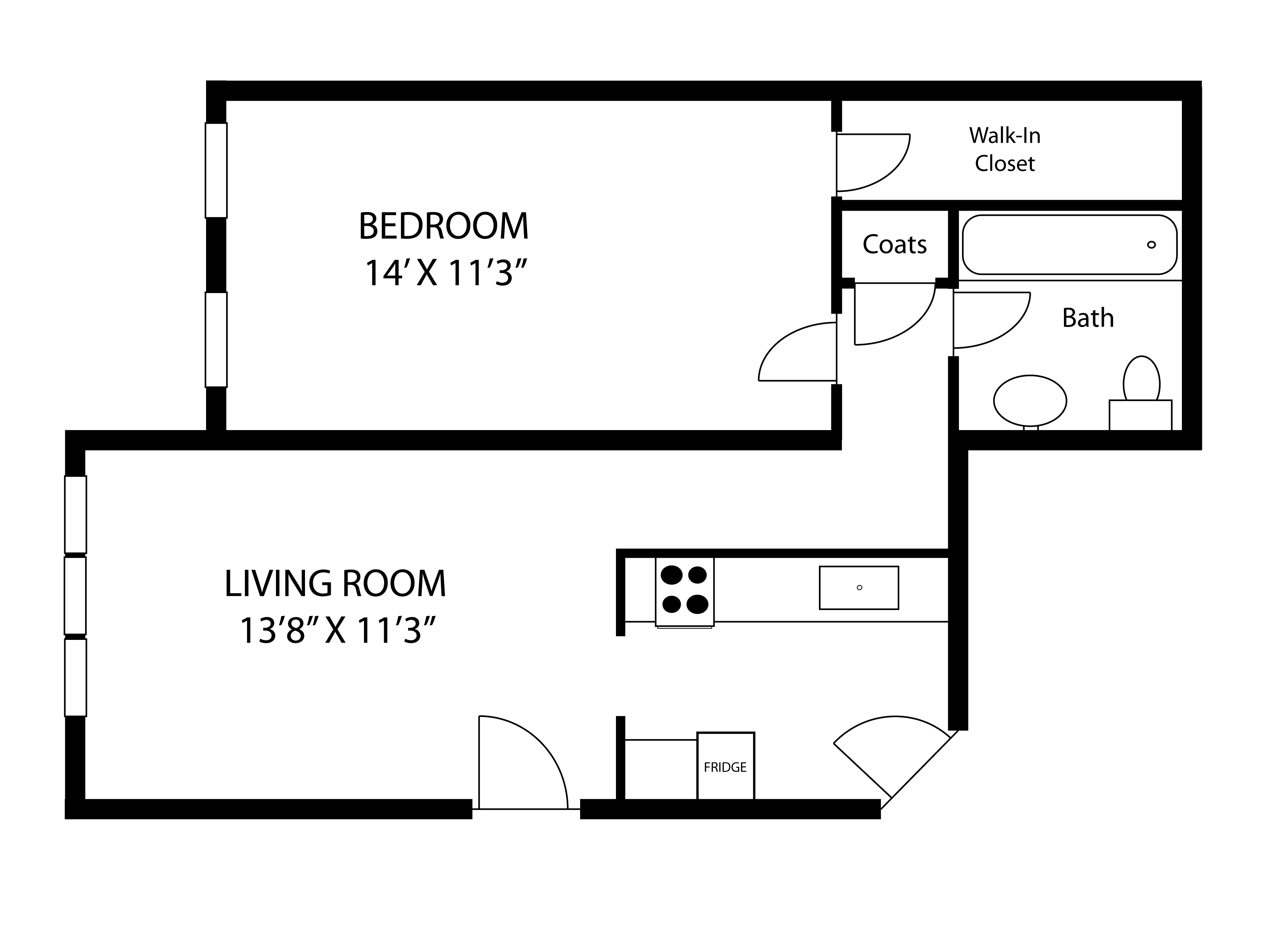 Floor Plans of Oxford Apartments in Stoughton, MA