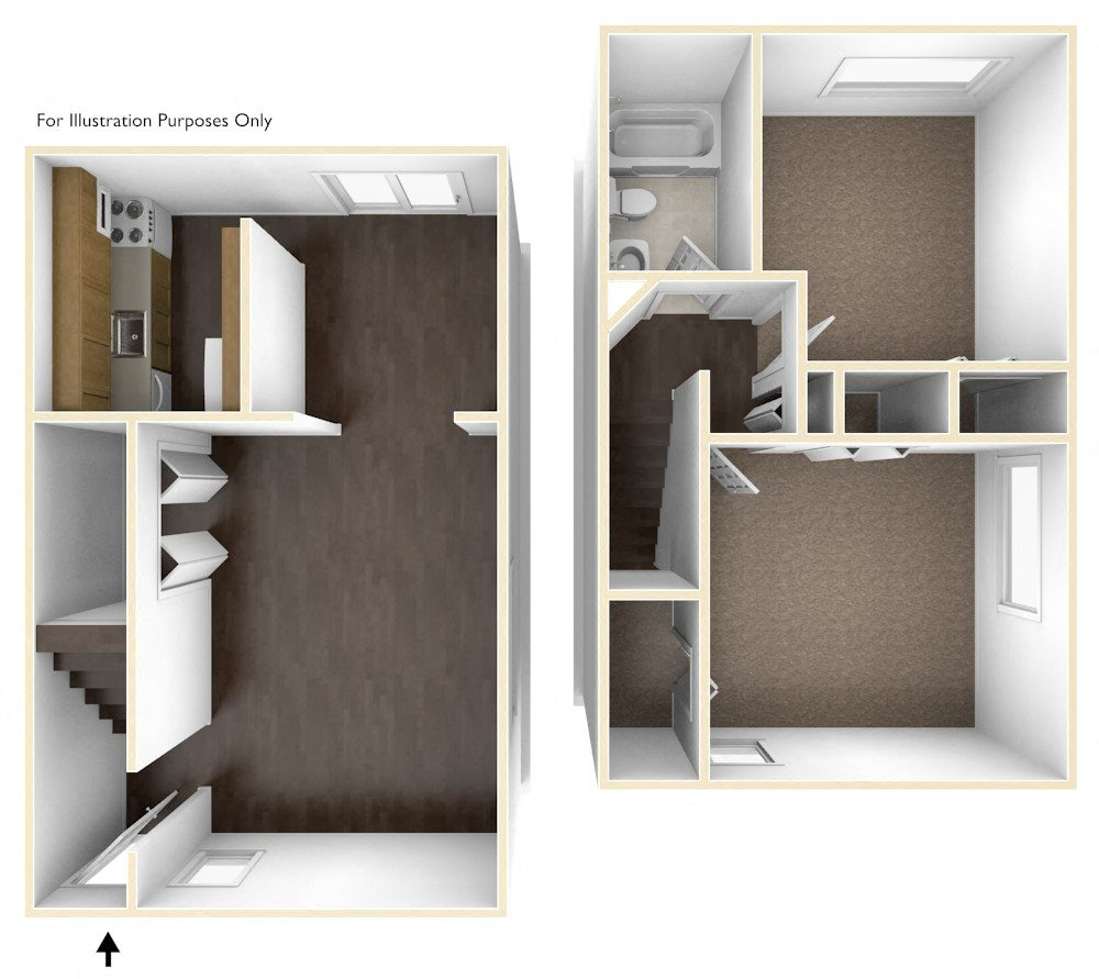 1 Bedroom Apartments For Rent In Brockton Ma: Floor Plans Of Chatham West In Brockton, MA