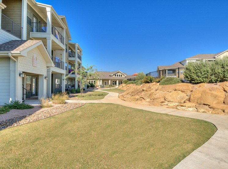 External Apartment View at La Contessa Luxury Apartments, Texas
