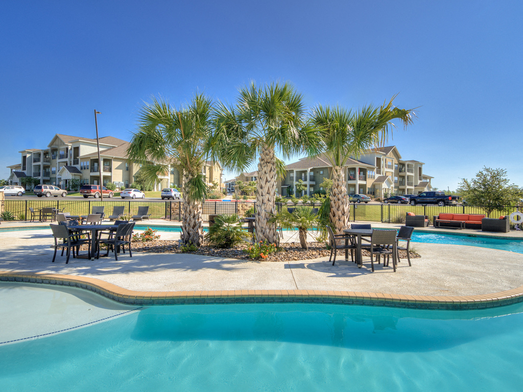 Indoor Lap Pool and Spa at La Contessa Luxury Apartments, Laredo, 78045