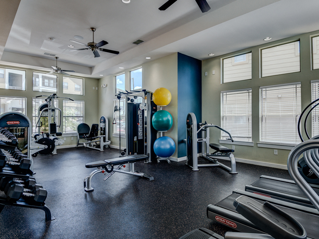 Fitness Studio at La Contessa Luxury Apartments, Laredo, 78045