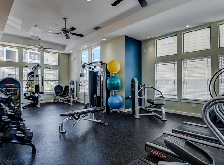 Fitness Studio at La Contessa Luxury Apartments, Laredo, 78045
