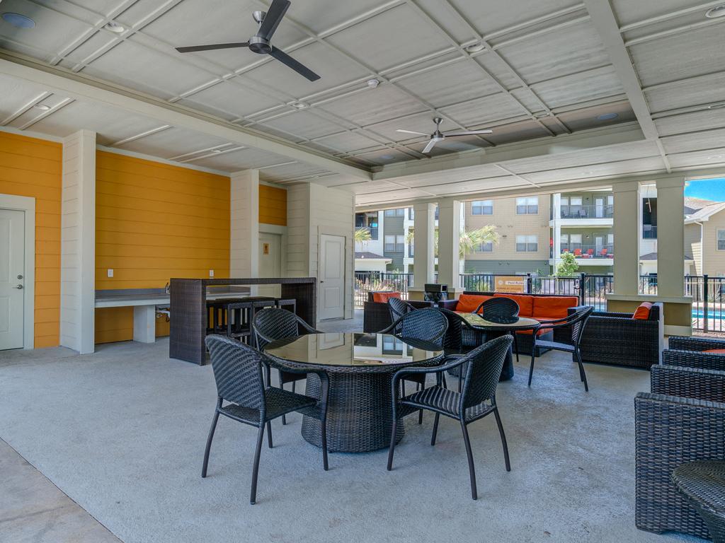 Specious Gathering Area at La Contessa Luxury Apartments, Laredo