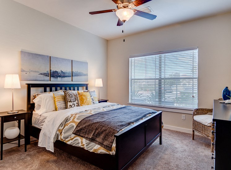 Lighted Ceiling Fan at La Contessa Luxury Apartments, Laredo, TX