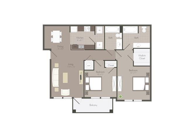 Floor Plan at The Dorel Eagle Pass, Eagle Pass, TX