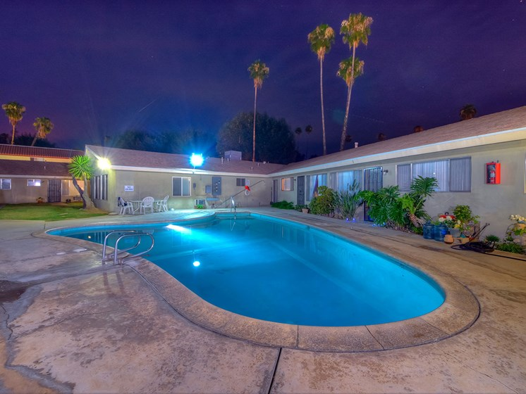 Palmbrook Apartment Homes Pool Deck