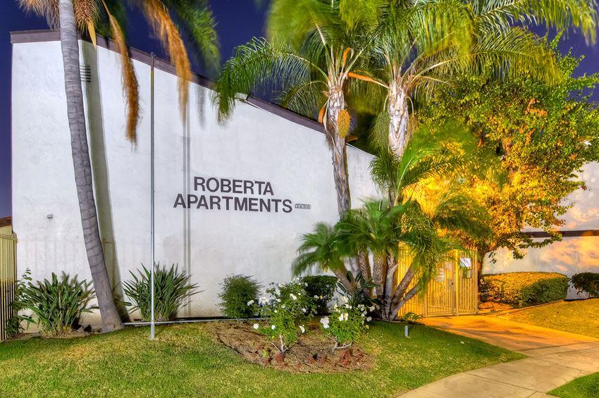 Roberta Apartment Homes Entrance