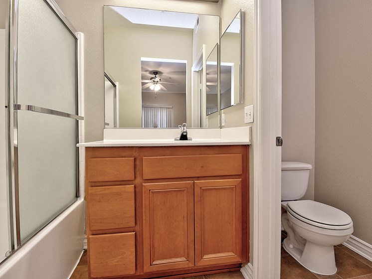 Designer Bathroom Suites at TERRAZA DEL SOL, Rancho Cucamonga, CA, 91730