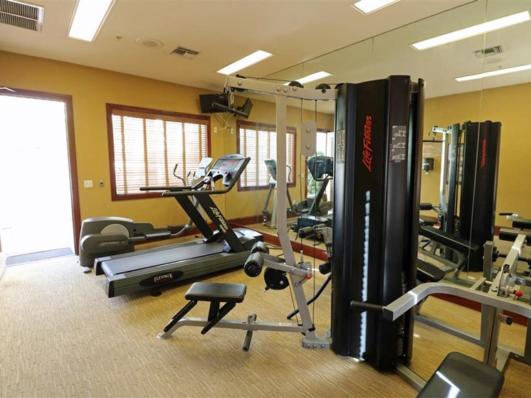 Fitness Center at TERRAZA DEL SOL, Rancho Cucamonga, CA