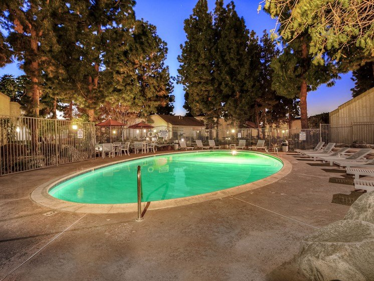 The Streams Apartment Homes Pool Area