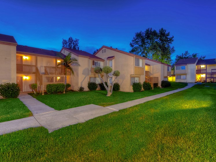Exterior View at WOODSIDE VILLAGE, West Covina, California
