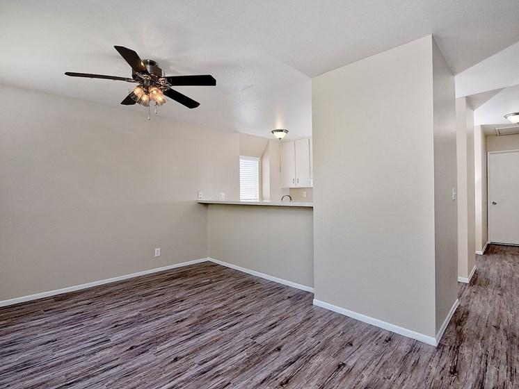 Beautiful Carpeting Living Area at WOODSIDE VILLAGE, California