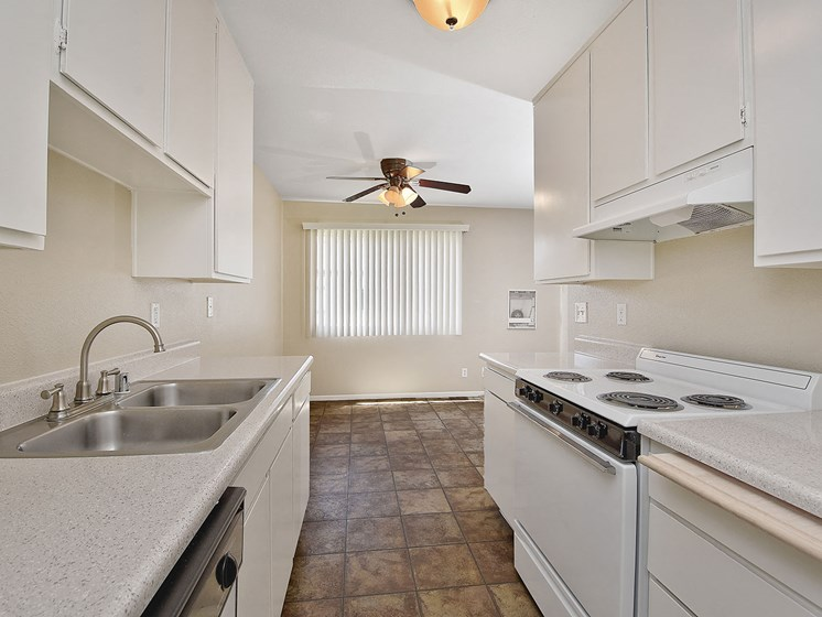 Fully Furnished Kitchen at WOODSIDE VILLAGE, West Covina, CA