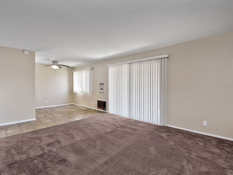 Spacious Room at WOODSIDE VILLAGE, West Covina, California