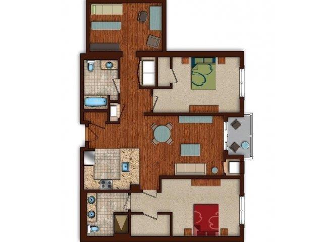 vl-b12 Floor Plan 35