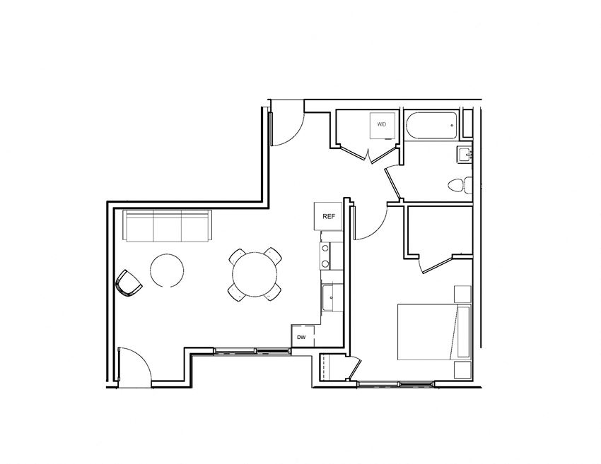 large one bedroom 1 bedroom brand new Oakland Bay Area now leasing coming soon open
