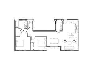 2 bedroom now leasing Oakland Apartment Rental close to BART and Alameda