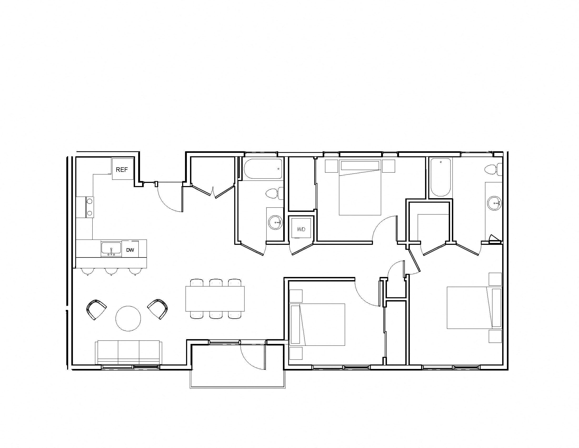 Brand new community luxury modern apartment leasing loft three bedroom gated close to bart BART
