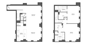 Floor plan at The Republic, Philadelphia, Pennsylvania