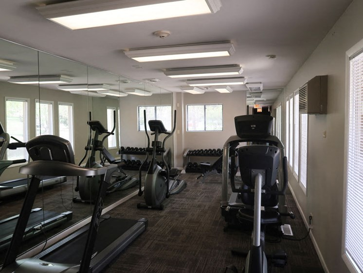 Gym at The Moorings in Roselle Illinois