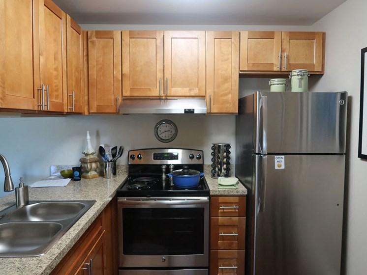 Kitchen at The Moorings in Roselle Illinois