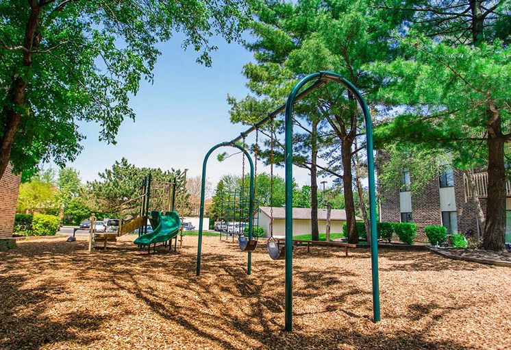 Children's Play Area at The Moorings, Illinois