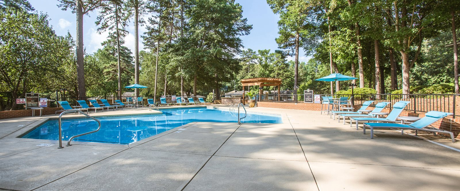 The Timbers Apartments in Raleigh NC Pool 2