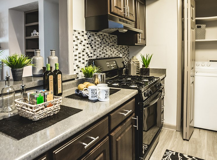 Kitchen at Downtown Raleigh NC Apartments