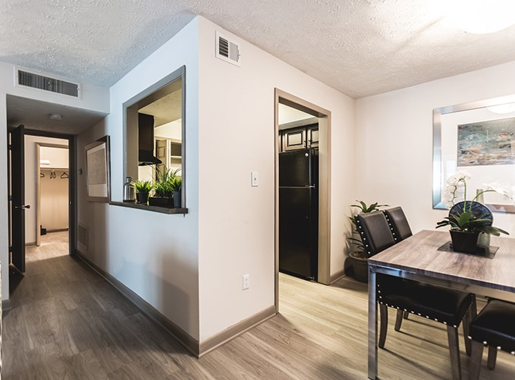 Interior of apartments near NCSU in Raleigh NC