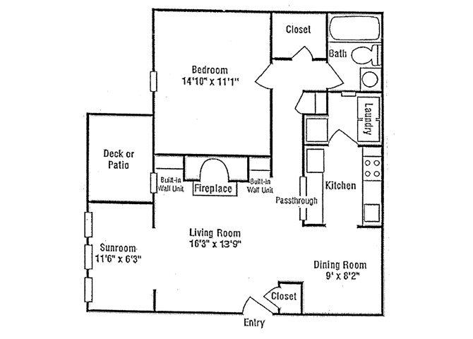 Fairfield I Floor Plan 1