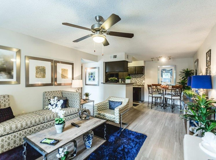 The Trestles Apartments in Raleigh NC Living Area