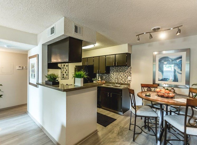 The Trestles Apartments Kitchen in Raleigh