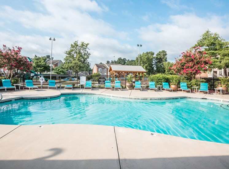 The Trestles Apartments in Raleigh NC Pool