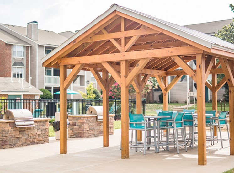 The Trestles Apartments Gazebo